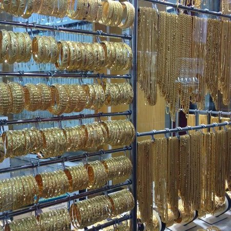 Gold Souk: The gold never stops coming...
