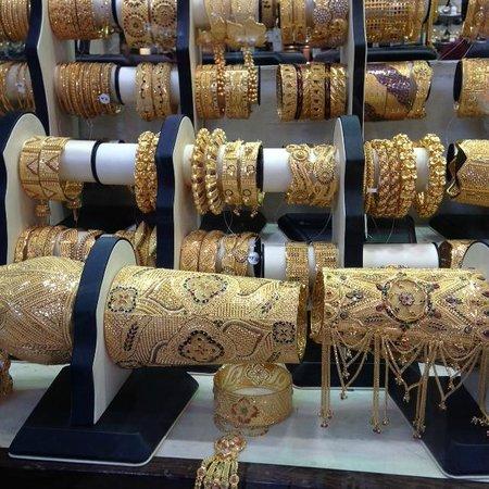 Gold Souk: Bracelets and bangles galore