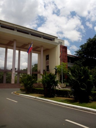 University of the Philippines: The gateway to UP Diliman. The Administration Building.