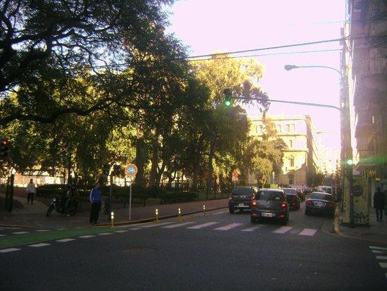 Recoleta: Calle Arenales