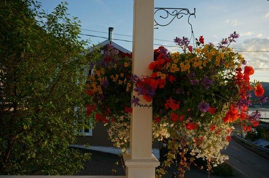 Restaurant la fjordelaise: Flowers