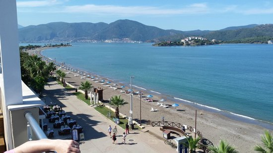 Delta Hotel: looking out to Fethiye