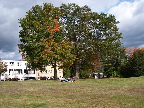 Franciscan Guest House : Fall is beautiful on the Monastery Estate grounds.
