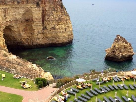 Tivoli Carvoeiro: the view from our seaview room