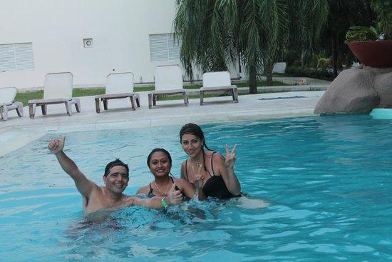 Holiday Inn Express Playa Del Carmen : Para relajarnos un poco antes de volver a salir