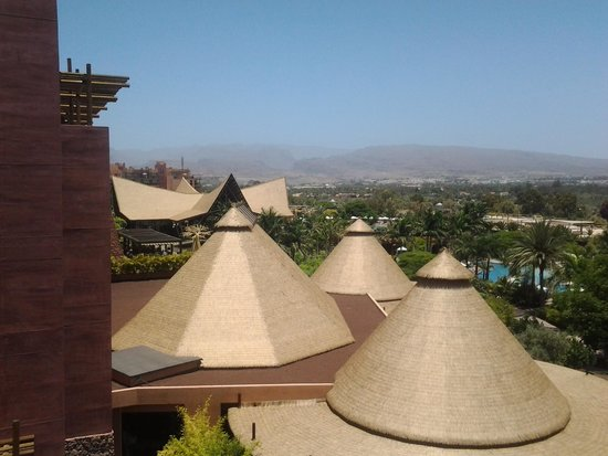 Lopesan Baobab Resort: view from room 3073