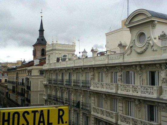 Hostal Rober : La vista desde nuestro ventanal
