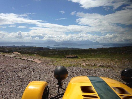 Highland Caterham Hire: Great Views