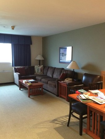 Killington Grand Resort Hotel: Living area