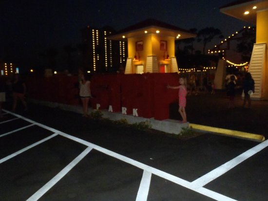 Miracle Strip Amusement Park: Miracle Strip Sign...at night!
