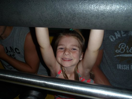 Miracle Strip Amusement Park: All Smiles! On the Sea Dragon!