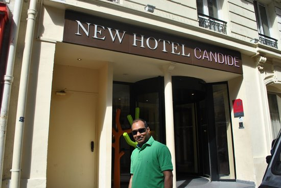 New Hotel Candide : In front of hotel