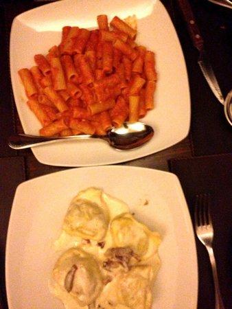 Osteria delle Tre Panche : Pasta dishes