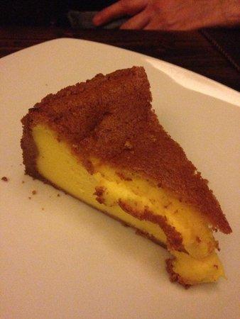 Osteria delle Tre Panche: Delicious cheesecake