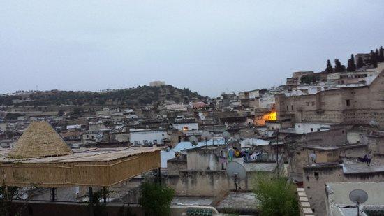 Riad Rcif : panorama dalla terrazza