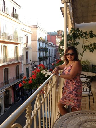 Hotel del Corso : Our view for breakfast