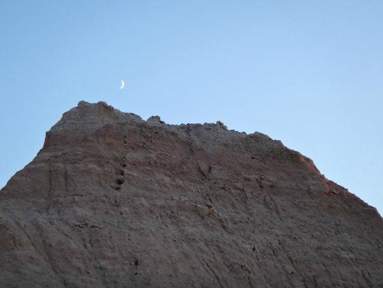 Cedar Pass Lodge: moon shot