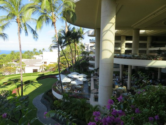Hapuna Beach Prince Hotel: View from Hotel