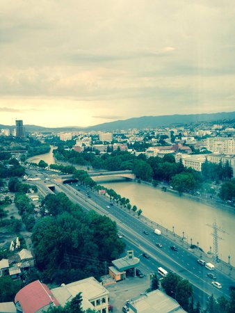 Radisson Blu Iveria Hotel, Tbilisi : View from my room