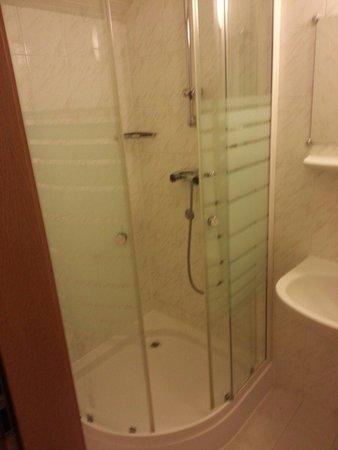 Hotel Molnar Budapest: Shower