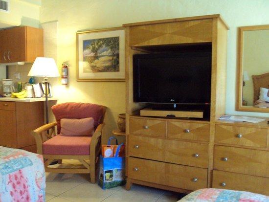 Aruba Beach Club: New, flat screen TV