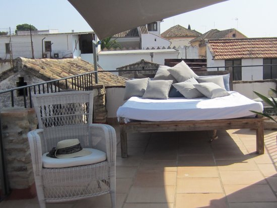 Balcon de Cordoba: The roof terrace