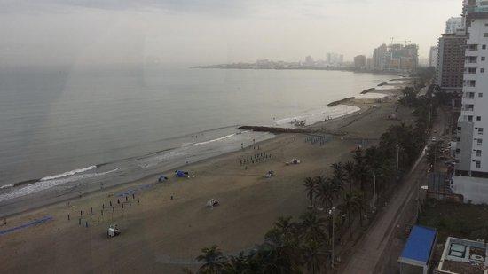 Hotel Almirante Cartagena Colombia : vista bocagrande