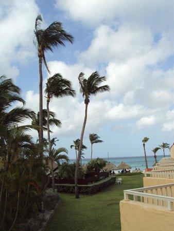 Aruba Beach Club: View from balcony of 220