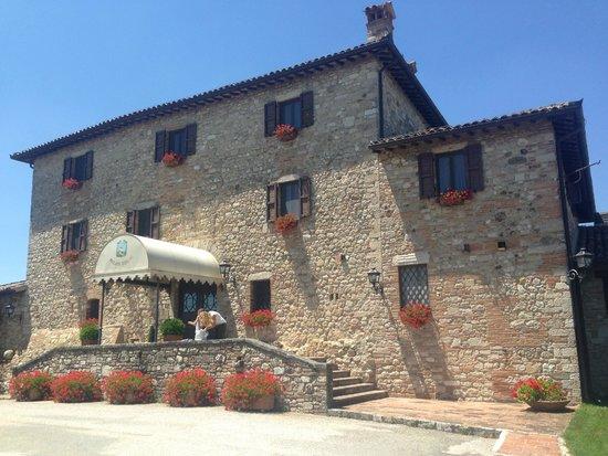 Relais Todini: ingresso