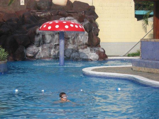 Apart Hotel Villa Nuria: Tile pool