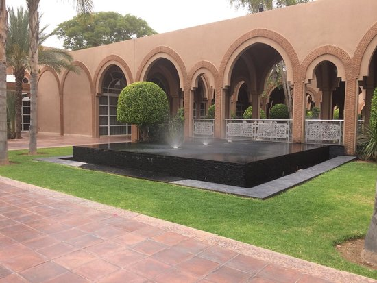 Pullman Marrakech Palmeraie Resort and Spa : Fontaine