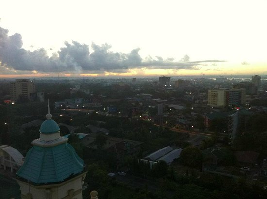 Waterfront Cebu City Hotel & Casino: View from our room at dawn