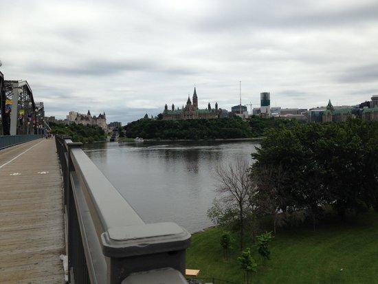 Alexandra Bridge: From the Bridge