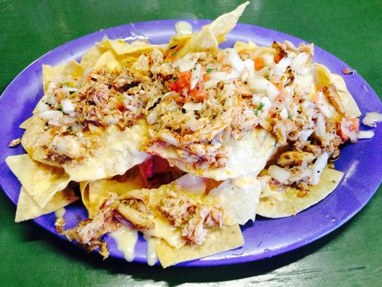 Stingaree Restaurant & Bar: Crab nachos