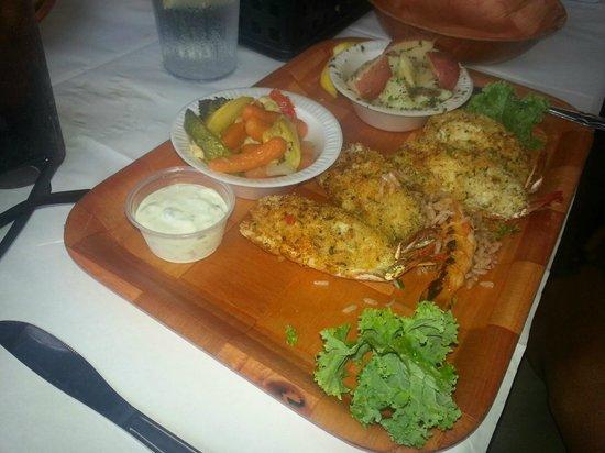 Rustic Inn Crabhouse : yummy!!