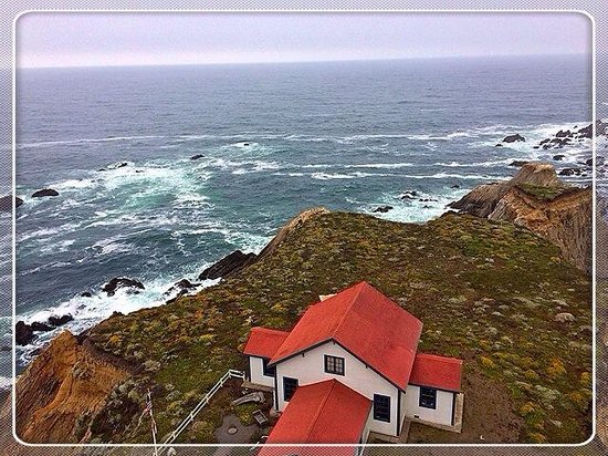 Point Arena Lighthouse & Museum : View from the top