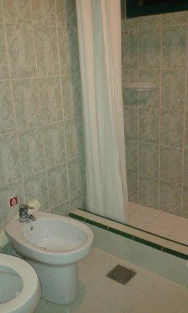 Hotel Los Delfines: Shower