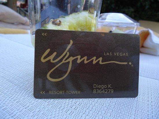 Wynn Las Vegas : almorzando