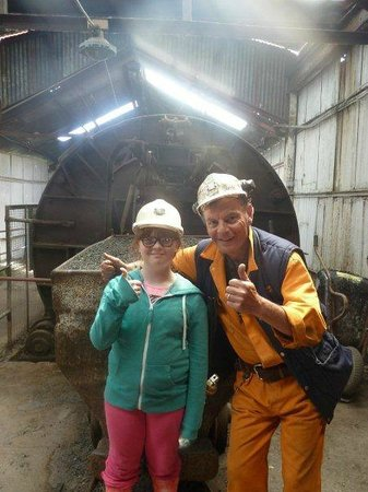 Big Pit:  National Coal Museum: A day that she will never forget Thanks to you all.