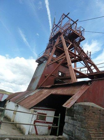 Big Pit:  National Coal Museum: The Winding house