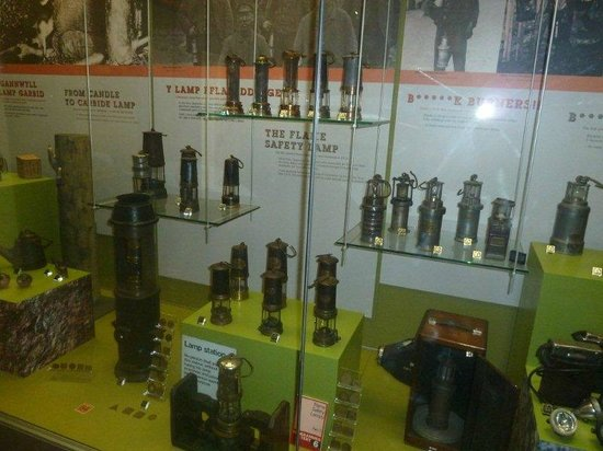Big Pit:  National Coal Museum: The Davey Lamp Collection and a valuable piece of kit.