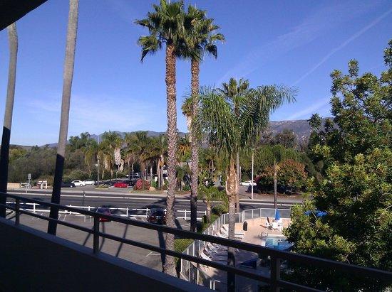 Super 8 Santa Barbara/Goleta : View from room 319 at the Super 8 Goleta.