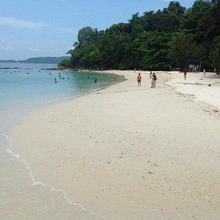 Tunku Abdul Rahman Marine Park: пляж