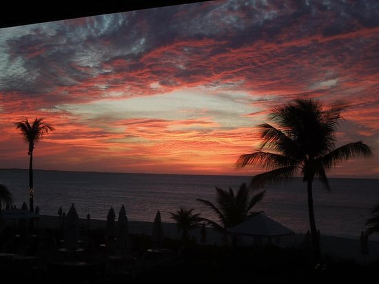 Ocean Club West: sunset - wow!