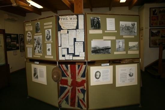 Winterton Museum: Inside museum