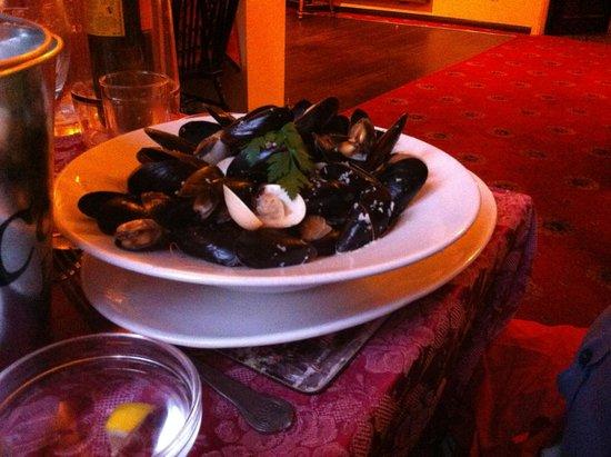 Black Bull Inn: Seafood medley