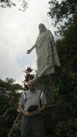 Our Lady of Lourdes Grotto: jesus blessing me