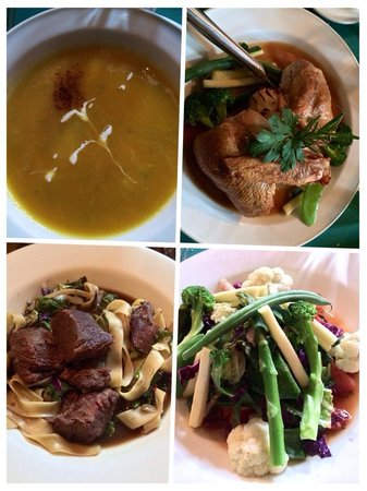 The 955 Ukiah Street Restaurant: Our order