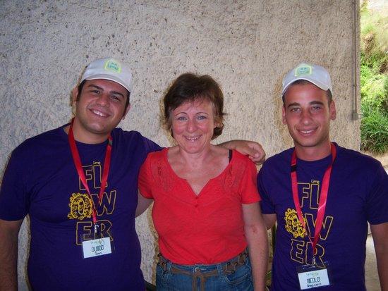 Hotel Pedraladda : Mit den Animateuren...