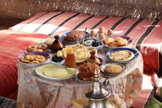 Marrakech By Air: petit dej berbère